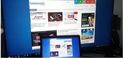 Hướng dẫn chiếu màn hình máy tính lên Smart Tivi 1