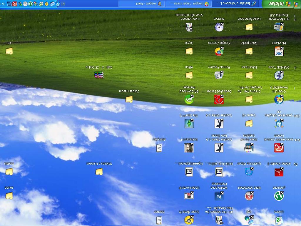 Cách khắc phục lỗi màn hình máy tính bị ngược 4