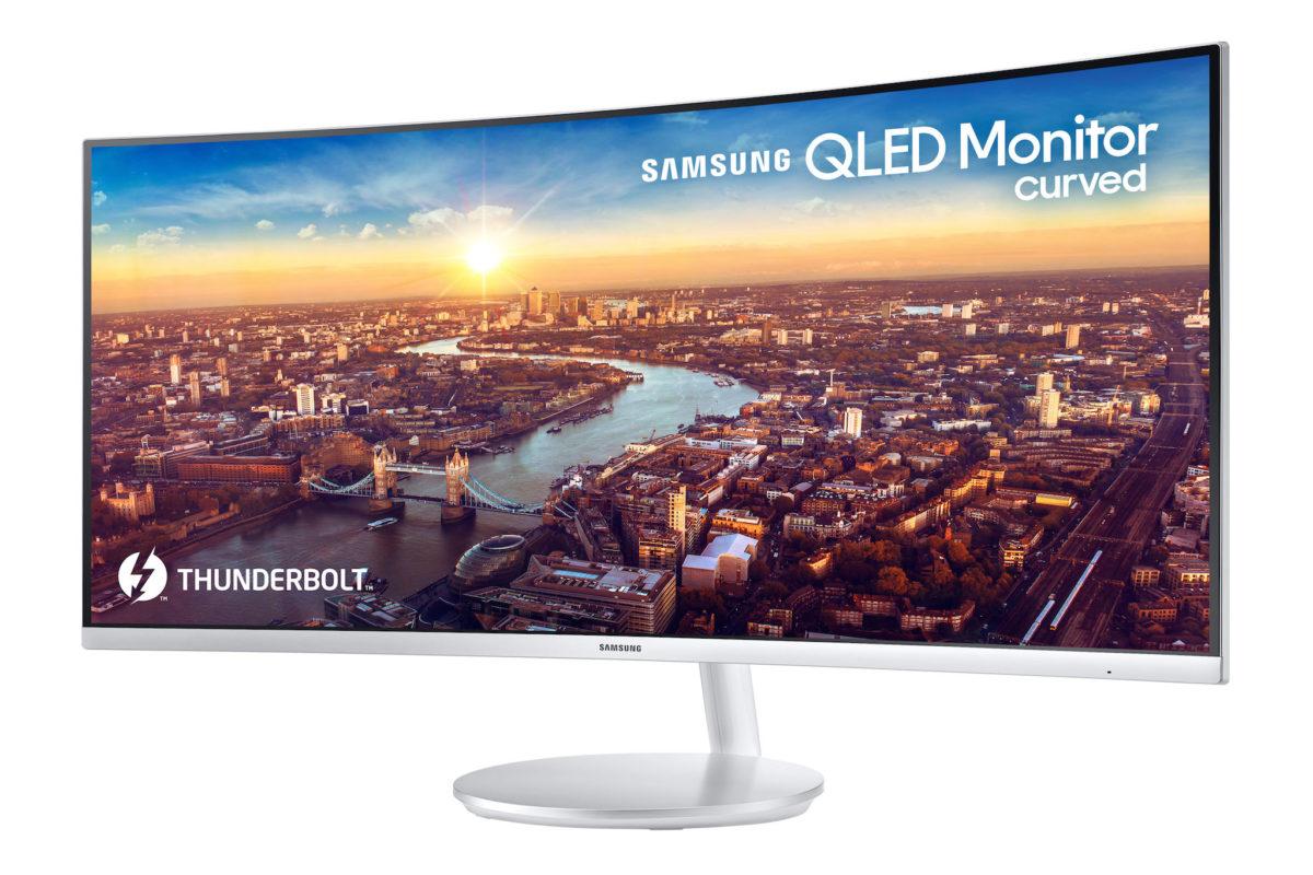 Samsung chính thức ra mắt màn hình CJ791 QLED cong với Thunderbolt 3, tỉ lệ 21:9 1