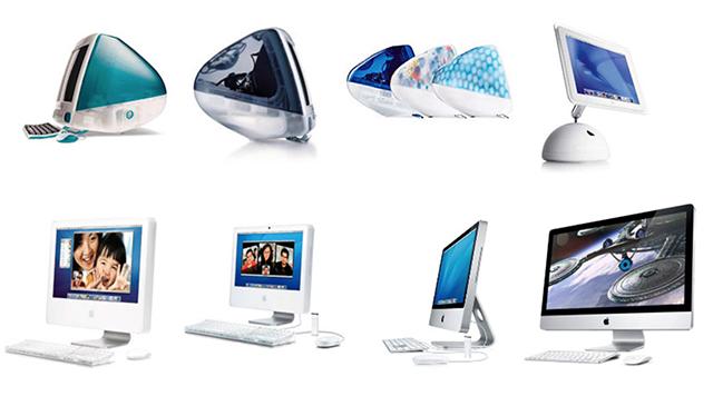 Màn hình máy tính Imac - quá trình thay đổi thiết kế qua từng năm 1