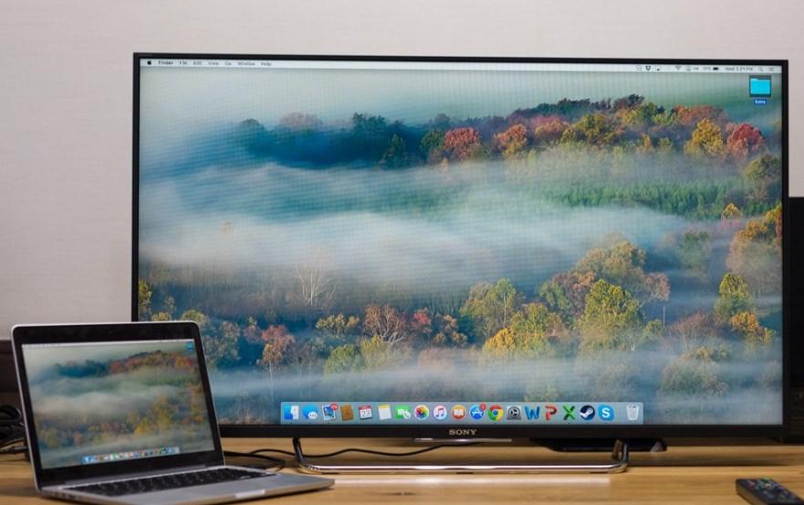 Có nên dùng tivi thay màn hình máy tính