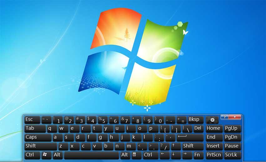 cách mở bàn phím ảo máy tính Windows